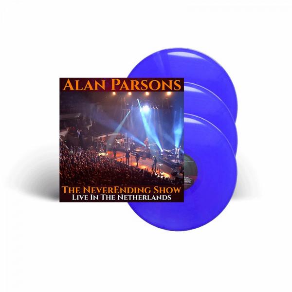 ALAN PARSONS - The NeverEnding Show: Live In The Netherlands - Ltd. Gatefold BLUE 3-LP - Exclusive!