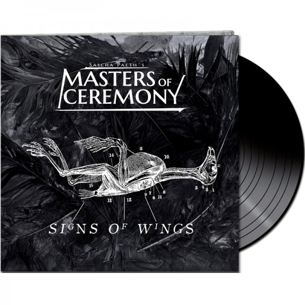 SASCHA PAETH'S MASTERS OF CEREMONY - Signs Of Wings - LTD Gatefold BLACK Vinyl, 180 Gram
