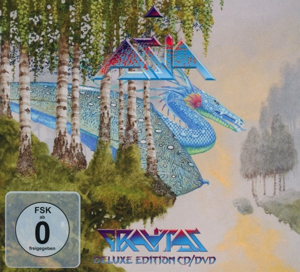 Asia - Gravitas (Ltd.Digipak+DVD)