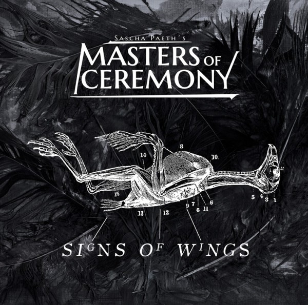 SASCHA PAETH'S MASTERS OF CEREMONY - Signs Of Wings - CD Jewelcase