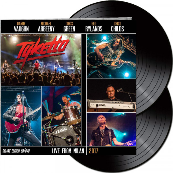 TYKETTO - Live From Milan 2017 - Ltd.Gatefold Black 2-LP