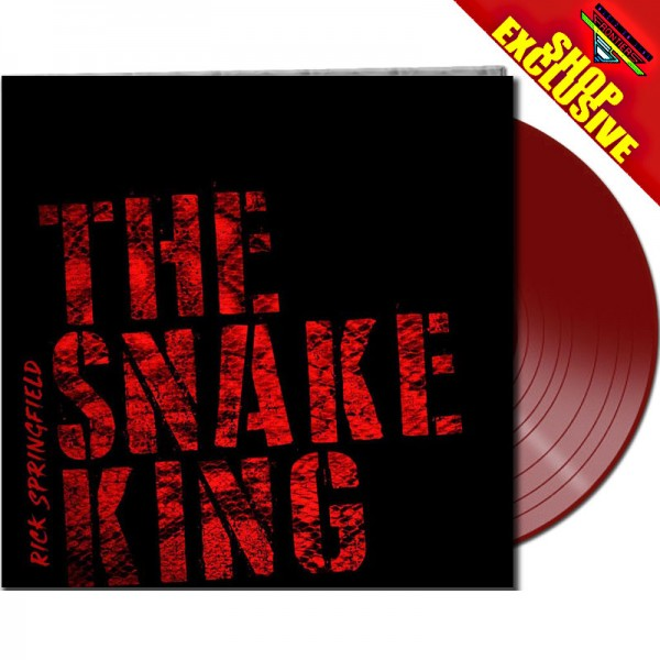 RICK SPRINGFIELD - The Snake King - LTD Gatefold RED Vinyl, 180 Gram - SHOP EXCLUSIVE!