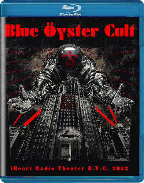 BLUE OYSTER CULT - iHeart Radio Theater N.Y.C. 2012 - Blu-Ray