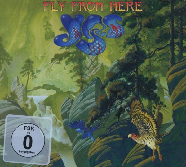 Yes - Fly From Here (Ltd.Digipak+DVD)