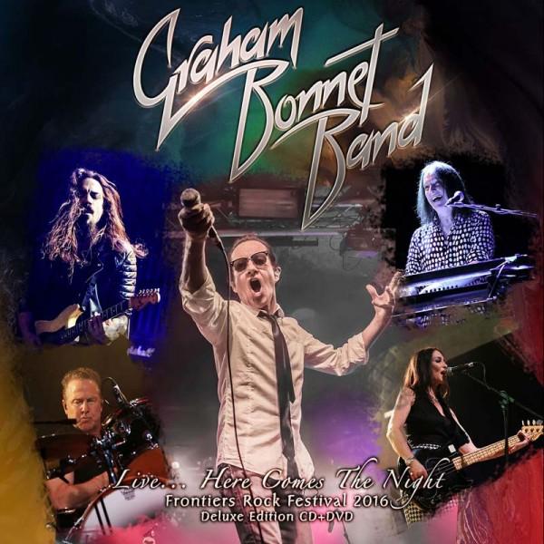 GRAHAM BONNET - Live… Here Comes The Night - CD/DVD-Digipak