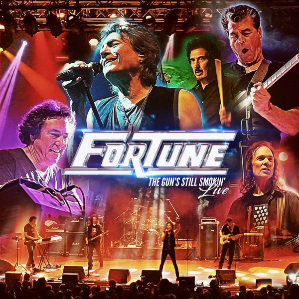 FORTUNE - The Gun's Still Smokin' Live - CD+DVD Jewelcase
