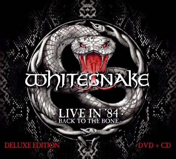 Whitesnake - Live In 1984-Back To The Bone (Digipak)