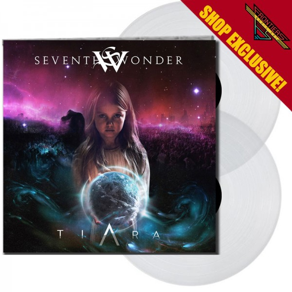 SEVENTH WONDER - Tiara - LTD Gatefold CRYSTAL 2 Vinyl, 180 Gram - SHOP EXCLUSIVE !