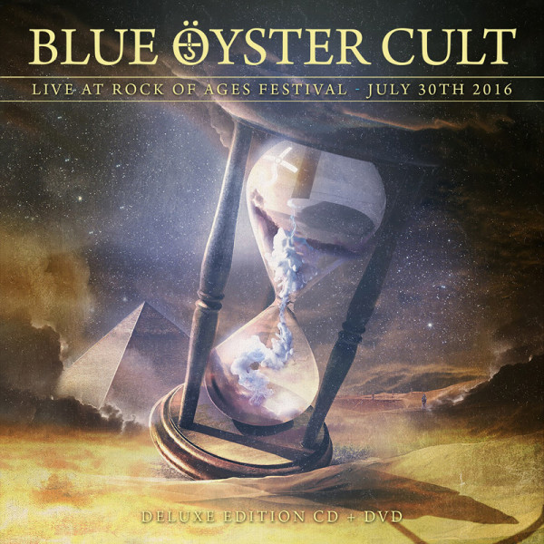 BLUE OYSTER CULT - Live At Rock Of Ages Festival 2016 - CD+DVD Jewelcase