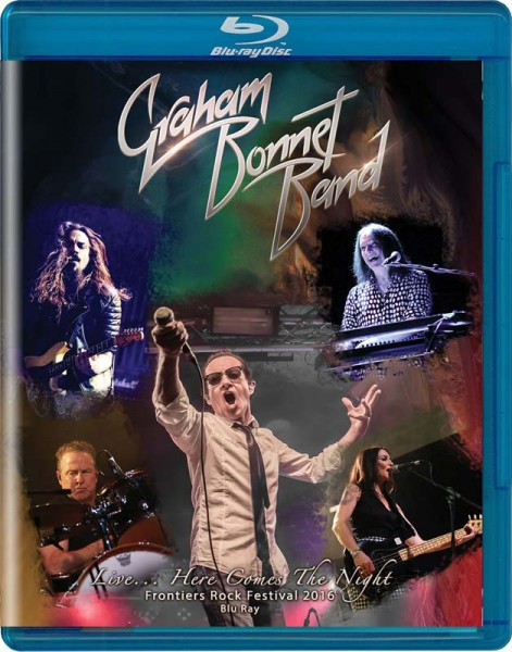 GRAHAM BONNET - Live… Here Comes The Night - BluRay