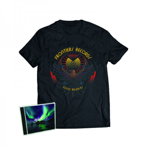 """1000 Releases"" T-Shirt + ARDOURS - Last Place on Earth - CD - Ltd.Bundle T-shirt S-XL"
