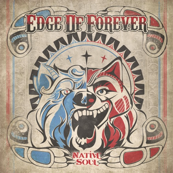 EDGE OF FOREVER - Native Soul - CD Jewelcase